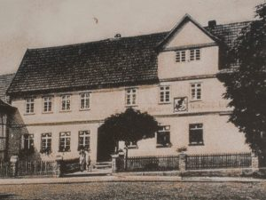 Gasthaus Geheb zu Zeit der Vereinsgründung